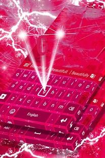 Pink klávesnice pro Galaxy S4 - náhled
