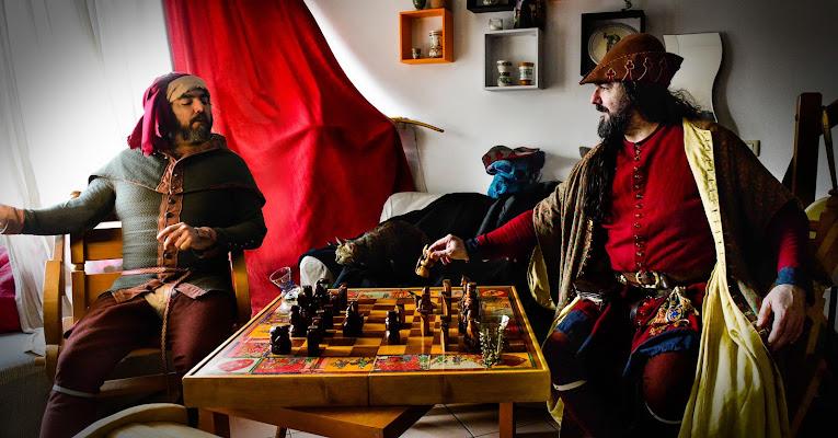 partita a scacchi di Morrilwen