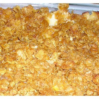 Hash Brown Cheese Casserole.