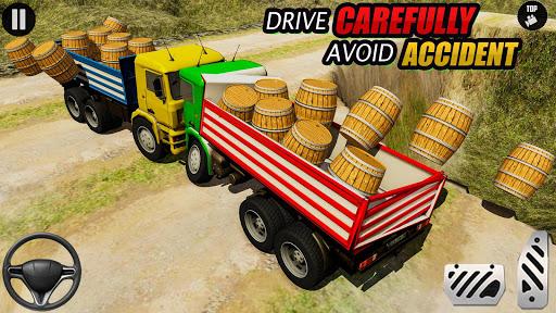 3D Euro Truck Driving Simulator - Real Cargo Game screenshots 13