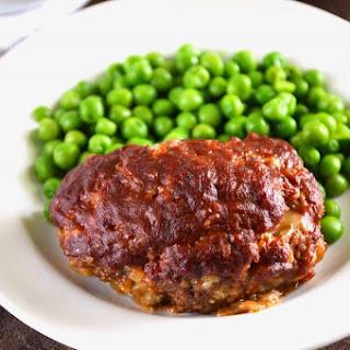 Mini BBQ Meatloaf.