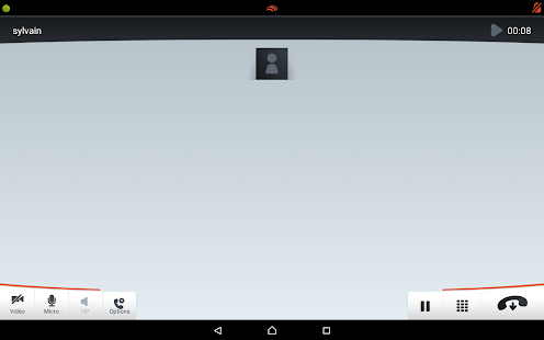 Linphone Video - screenshot thumbnail