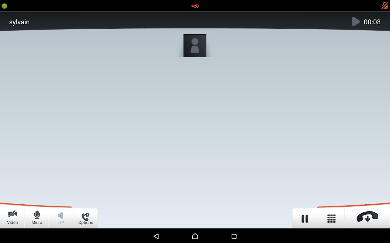 Linphone Video - screenshot