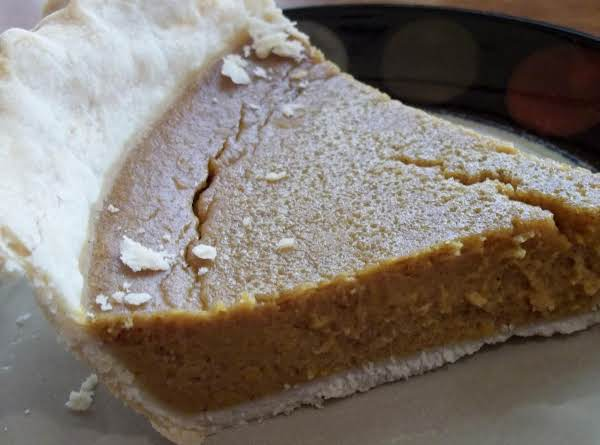 Butternut Squash Pie, By Cass
