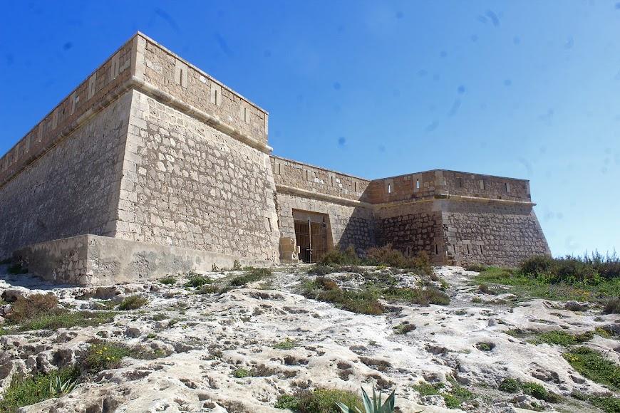 Parque Natural Cabo de Gata-Níjar, Castillo de los Escullos.