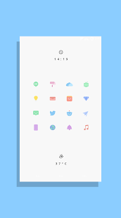 Kecil - Icon Pack for Android Screenshot