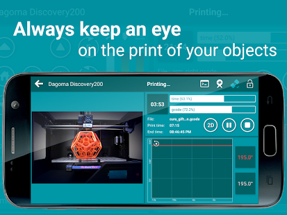 Printoid for OctoPrint PRO- screenshot thumbnail