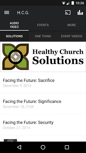 Healthy Church App