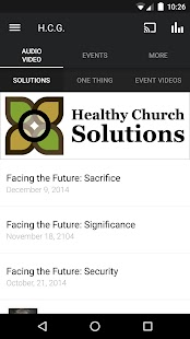 Healthy Church App- screenshot thumbnail