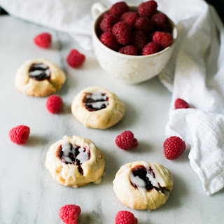 Raspberry Shortbread Tea Cookies (Adapted from Betty Crocker)