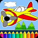 Flugzeug Spiel für Kinder icon