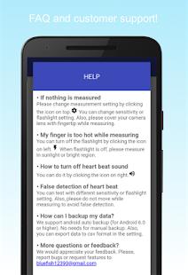 Genaue Herzfrequenz-Monitor Screenshot