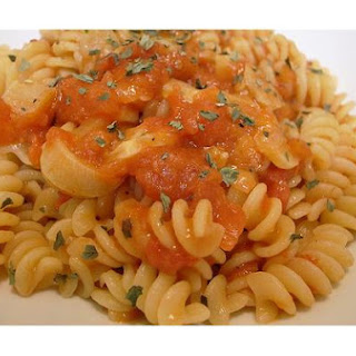 Pasta With Arrabbiata Sauce