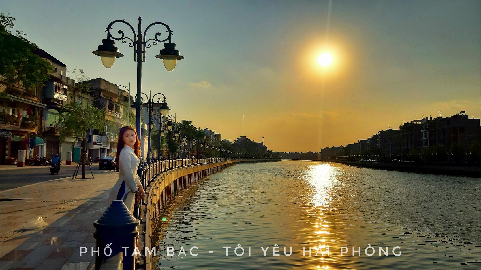 Khu sông Tam Bạc - Phố đi bộ ở Hải Phòng 2