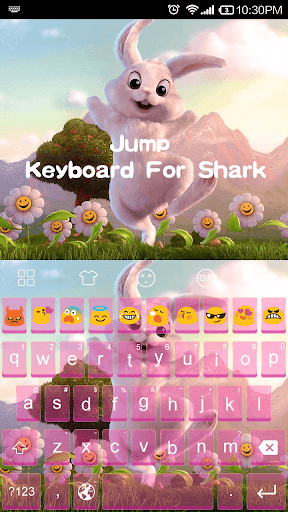Jump Rabbit -Emoji Keyboard