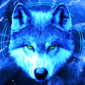 Ice Wallpaper and Keyboard - Lone Wolf icon