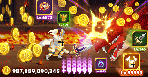 Mr.Kim - 8 bit idle heroes 6.0.76 screenshots 1