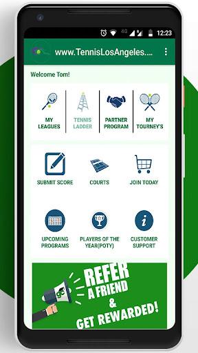 Tennis League Network App 3.18 screenshots 1