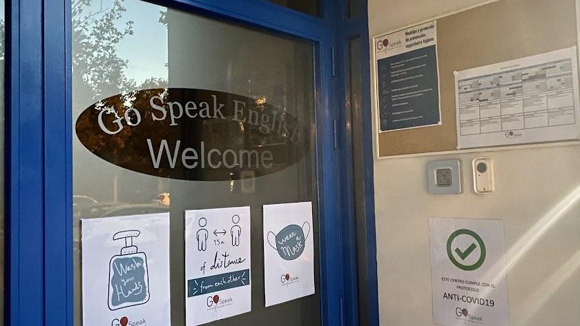 Escuelas de idiomas seguras, en una foto de archivo.