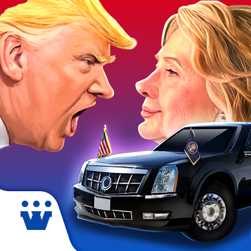 Race to White House - 2020 - Trump vs Hillary Icon