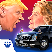 Race to White House - 2020 - Trump vs Hillary