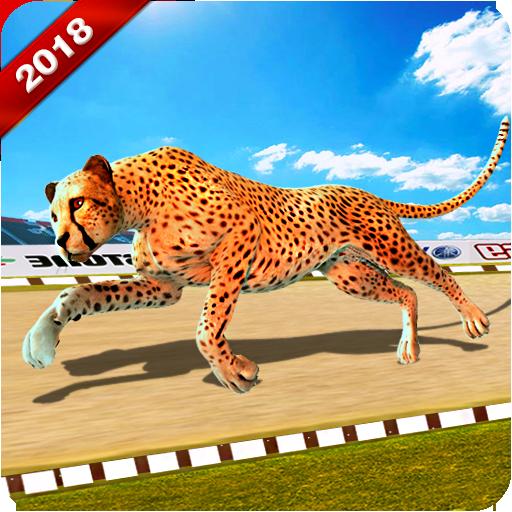 Wild Cheetah Racing Fever: Animal Simulator Race