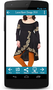 Latest Kurti Design 2016 screenshot 0