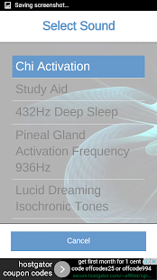 Binaural Beats Sound Therapy 2- screenshot thumbnail
