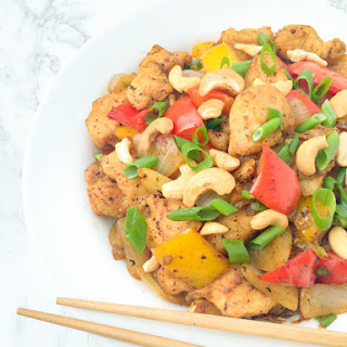 Cashew Chicken Stir-Fry.