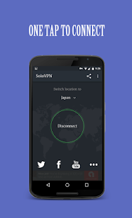 Solo VPN - One Tap Free Proxy Screenshot