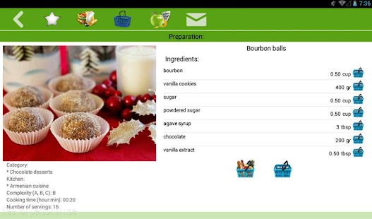 Dessert recipes- screenshot thumbnail