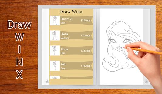 Download Draw Winx For PC Windows And Mac Apk Screenshot 2