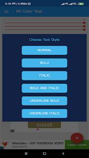 App Ml Color Text APK for Windows Phone