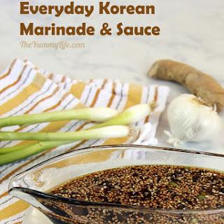 Korean Marinade and Sauce.