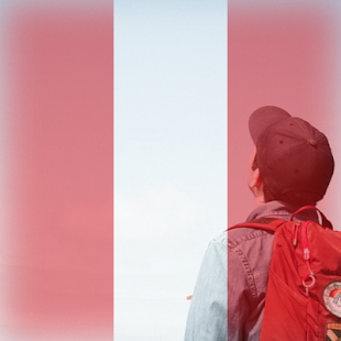Peru Flag On Face Maker : Photo Editor - náhled