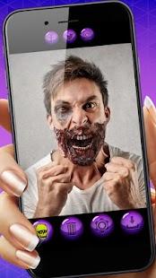 Zombie Tvář  Editor Fotek - náhled