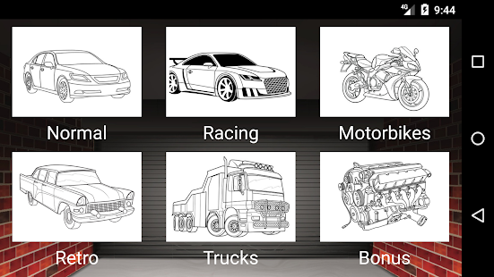 Best Cars Coloring Book Game - Android Apps on Google Play