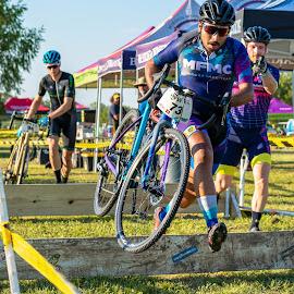 Cyclocross by Bert Templeton - Sports & Fitness Cycling ( cyclist, racing, race, cyclocross, cycling, biking, texas, bike )