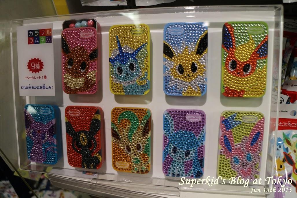 各種伊布進化的手機殼系列