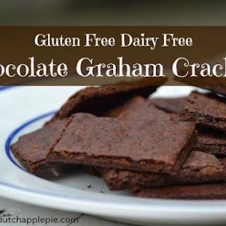 Gluten Free Dairy Free Chocolate Graham Crackers.