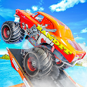Impossible Stunts Driving Giant Monster Truck 2019 icon