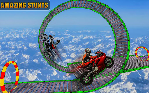 Impossible Bike 3D Tracks  screenshots 11