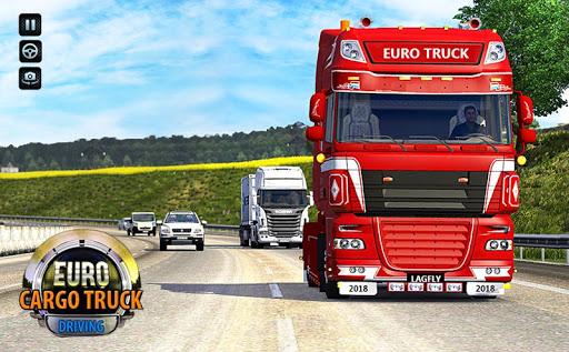 Offroad Euro Truck Drive 2017: Truck Games  screenshots 3