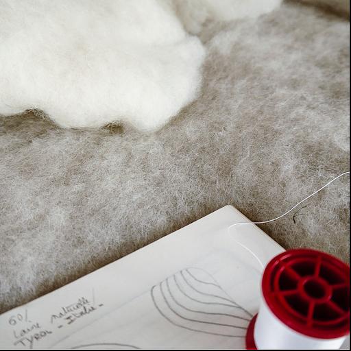 #serenité #serinity #interiorslowdesign  #wool #laine #feutre #artisanatdart #paris #pieceunique #atelierfrancais