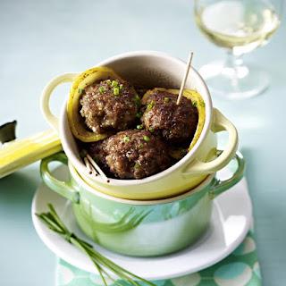 Veal Meatballs.