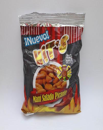 snack hits mani picante 160gr