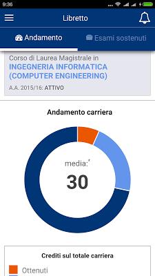 PoliTO App - screenshot