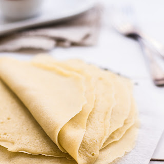 The Best Ever Gluten Free Crepes.
