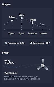 Погода 24 – Прогноз погоды на экране телефона 6