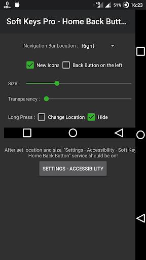 SoftKey Pro - Home Back Button  - (No Ads) 9.0 screenshots 3